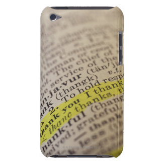 Highlighted dictionary entry iPod Case-Mate case