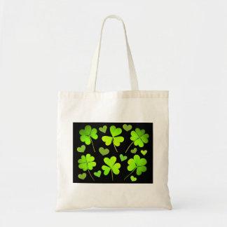 Highlighted Irish Shamrock Bag