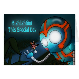 """""""Highlighting This Special Day"""" Card"""
