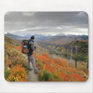 Highline Trail Fall Color - Glacier National Park Mouse Pad