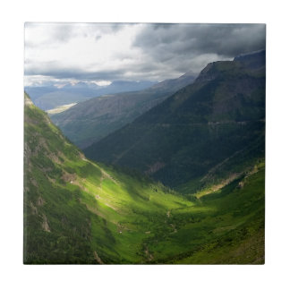 Highline Trail Glacier National Park Montana Ceramic Tile