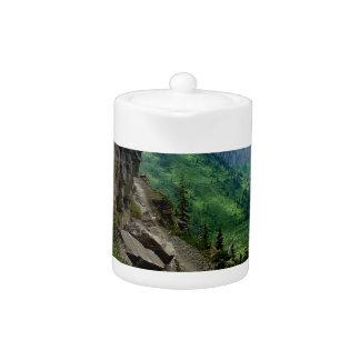 Highline Trail Glacier National Park Montana Teapot