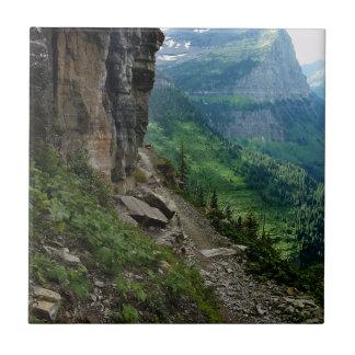 Highline Trail Glacier National Park Montana Tile