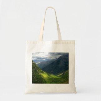 Highline Trail Glacier National Park Montana Tote Bag
