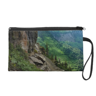 Highline Trail Glacier National Park Montana Wristlet Purse