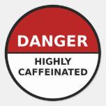 Highly Caffeinated Sticker