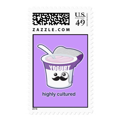 Highly Cultured Stamps