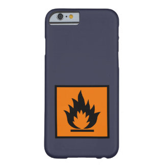Highly flammable phone case