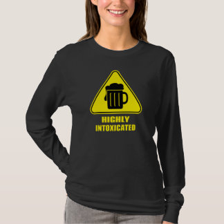 Highly Intoxicated Funny Drinking T-Shirt