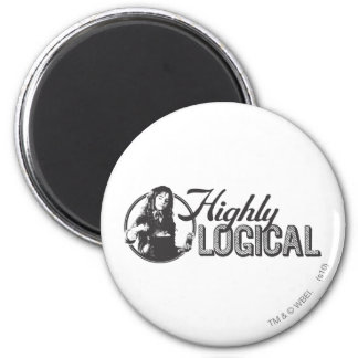 Highly Logical 2 Inch Round Magnet
