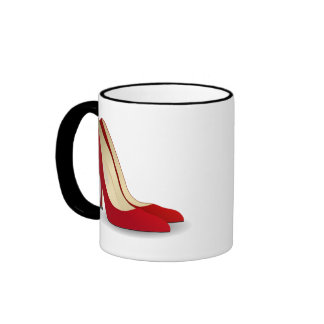 Highly Motivated: Will Work for Shoes (Maybe) Ringer Mug