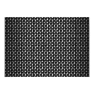 Highly Realistic Carbon Fiber Textured Card