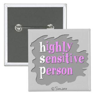 Highly Sensitive Person Button