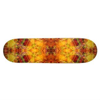 """Highly Sol Esse"" Mandala Skateboard"