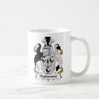 Highmore Family Crest Classic White Coffee Mug