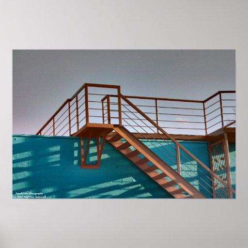 HighPass Stairwell Poster