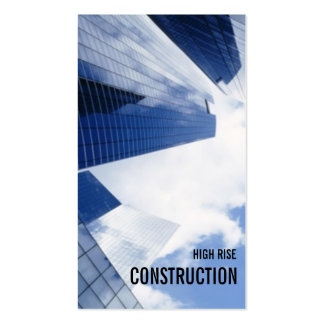 Highrise Buildings Cityscape Blue Sky Business Card