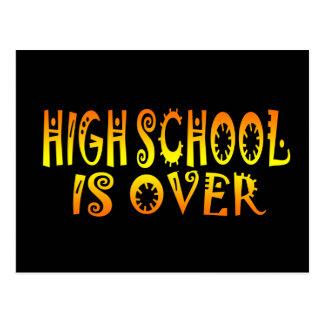 Highschool Is Over Postcard