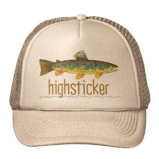 Highsticker - pesca con mosca gorra