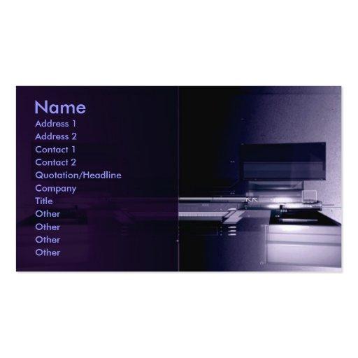 HighTech 2011Calendar Business Card Templates