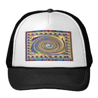 HighTide Sea Waves Hurricane Circular motion gifts Trucker Hat