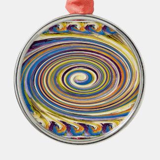 HighTide Sea Waves Hurricane Circular motion gifts Christmas Ornament