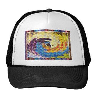 Hightide Waves Hurricane Season Cute Pretty Gifts Trucker Hat