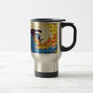 Hightide Waves Hurricane Season Cute Pretty Gifts Coffee Mug