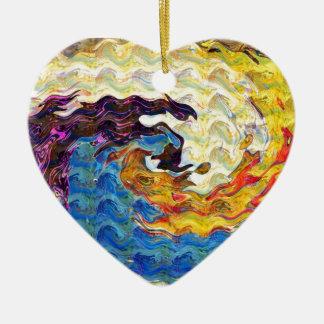 Hightide Waves Hurricane Season Cute Pretty Gifts Christmas Tree Ornaments