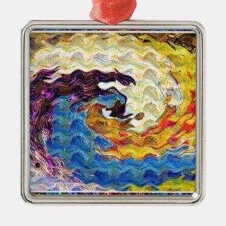 Hightide Waves Hurricane Season Cute Pretty Gifts Christmas Ornament