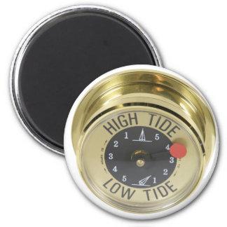HighTideMeter120709 copy 2 Inch Round Magnet