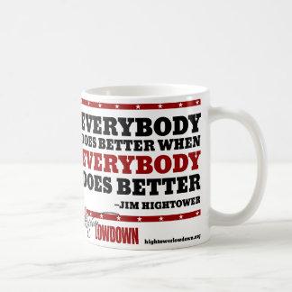 Hightower Lowdown: Everybody does better (Mug) Coffee Mug