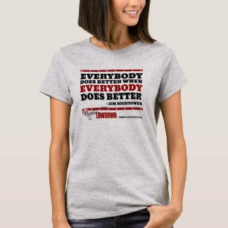 Hightower Lowdown: Everybody does better T-Shirt