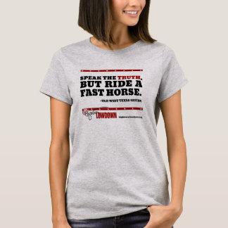 Hightower Lowdown: Speak the truth T-Shirt