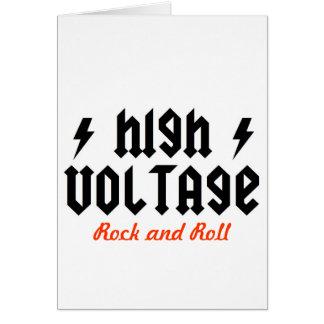 highvoltage card