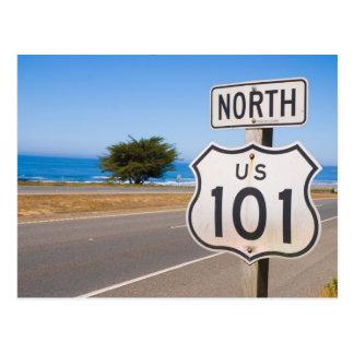 Highway 101 North Postcard