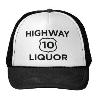 Highway 10 Liquor Trucker Hat