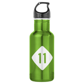 Highway 11, North Carolina, USA Stainless Steel Water Bottle