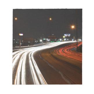 Highway 11 notepad