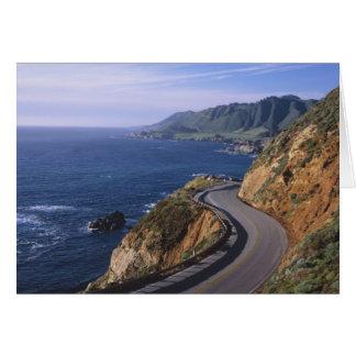 Highway 1 along the California Coast near Card