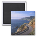 Highway 1 along the California Coast near 2 Inch Square Magnet
