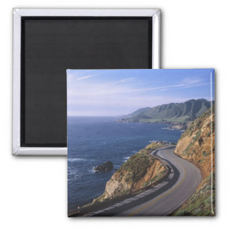 Highway 1 along the California Coast near Magnet