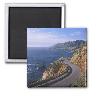 Highway 1 along the California Coast near Fridge Magnets