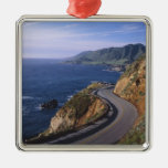Highway 1 along the California Coast near Metal Ornament
