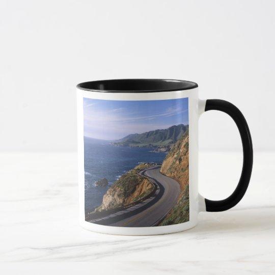 Highway 1 along the California Coast near Mug