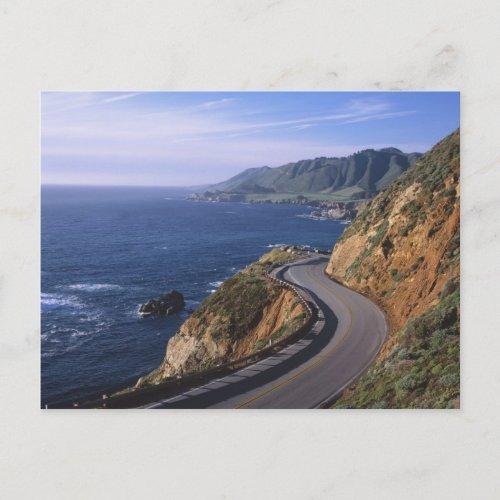 Highway 1 along the California Coast near Postcard