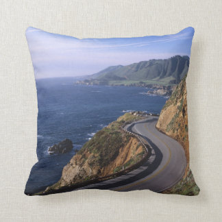 Highway 1 along the California Coast near Throw Pillow