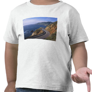 Highway 1 along the California Coast near Shirt
