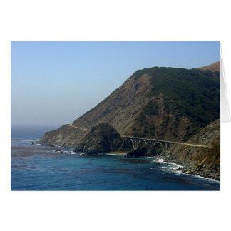 Highway 1 California Card