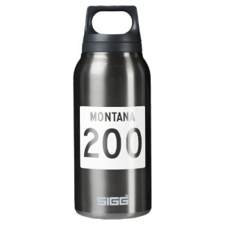 Highway 200, Montana, USA 10 Oz Insulated SIGG Thermos Water Bottle